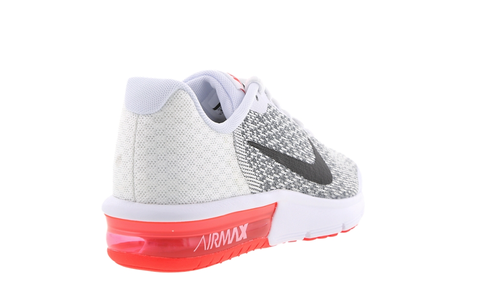 air max sequent homme blanc rouge